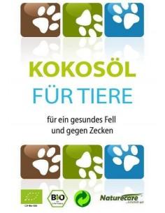 BIO-Kokosöl für Tiere- für ein gesundes Fell