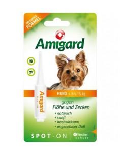 Amigard Spot-on HUND bis 15kg Einzelpackung - 2ml