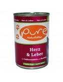 Katzenmenü Herz & Leber 400g mit Vollkornnudeln und Karotten