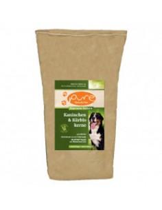 PURE Kaninchen & Kürbiskerne 12kg - single Protein & getreidefrei