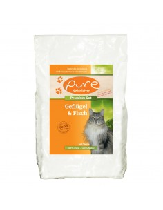 PURE Premium Cat Geflügel & Fisch 2kg