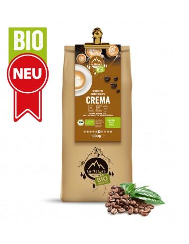 BIO Kaffee Bohnen Crema 250 g / 500 g / 1 kg