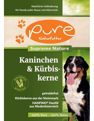 Muster PURE Supreme Kaninchen&Kürbiskerne